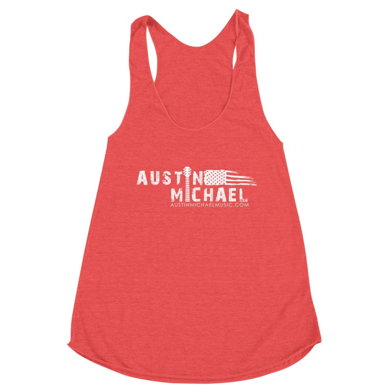 Austin Michael - USA  - for dark colors Women's Tank by austinmichaelus's Artist Shop