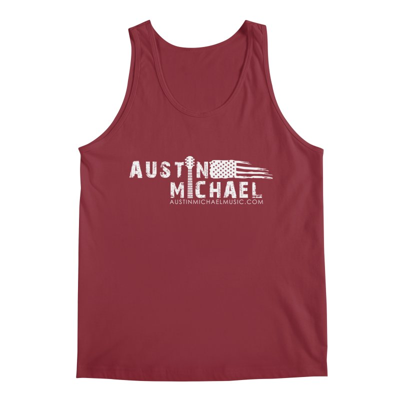 Austin Michael - USA  - for dark colors Men's Regular Tank by austinmichaelus's Artist Shop