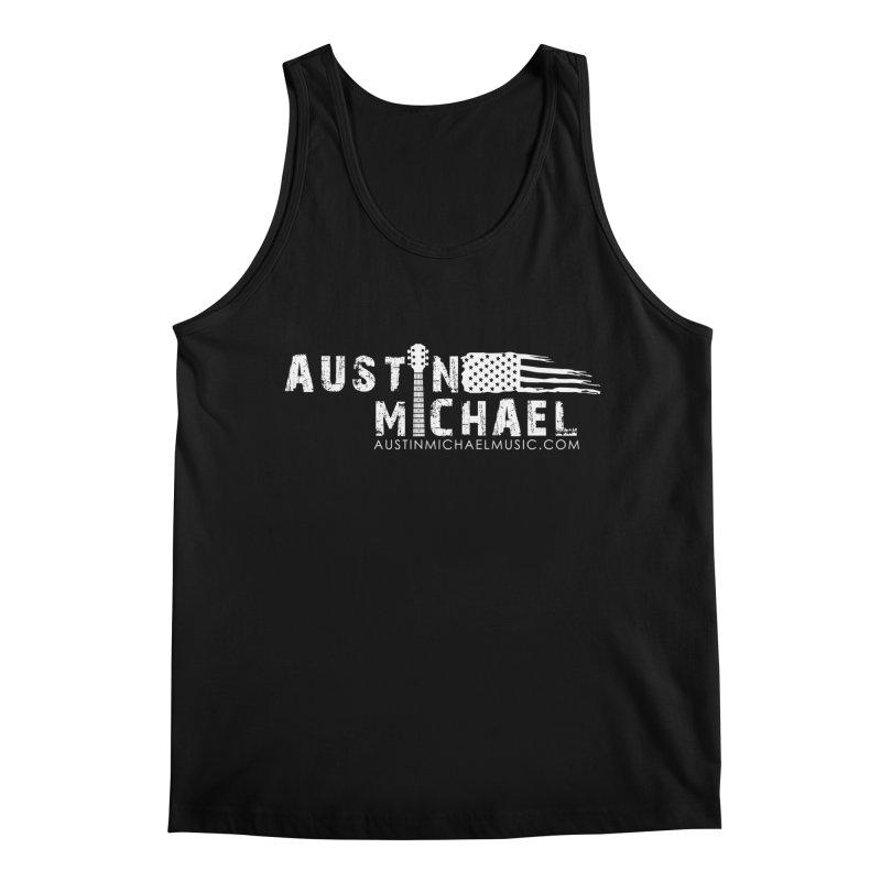 Austin Michael - USA  - for dark colors Men's Regular Tank by austinmichaelus's Artist Shop