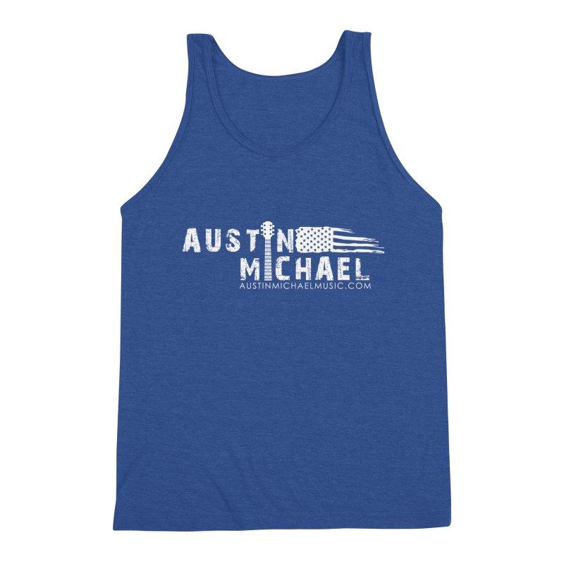 Austin Michael - USA  - for dark colors Men's Tank by austinmichaelus's Artist Shop