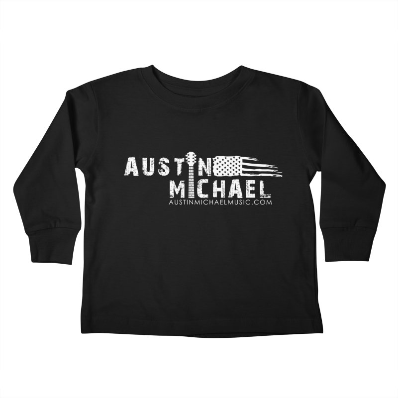 Austin Michael - USA  - for dark colors Kids Toddler Longsleeve T-Shirt by austinmichaelus's Artist Shop