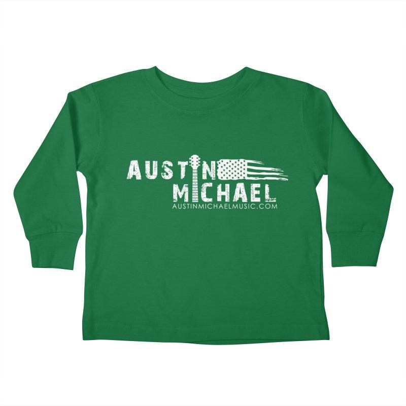 Austin Michael - USA  - for dark colors Kids Toddler Longsleeve T-Shirt by austinmichaelus's Artist Shop