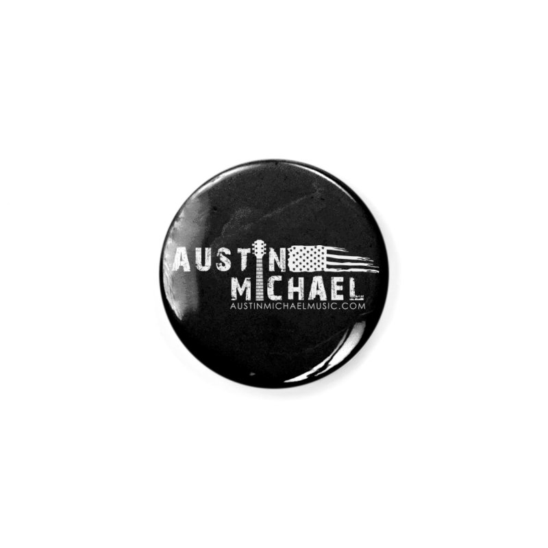 Austin Michael - USA  - for dark colors Accessories Button by austinmichaelus's Artist Shop