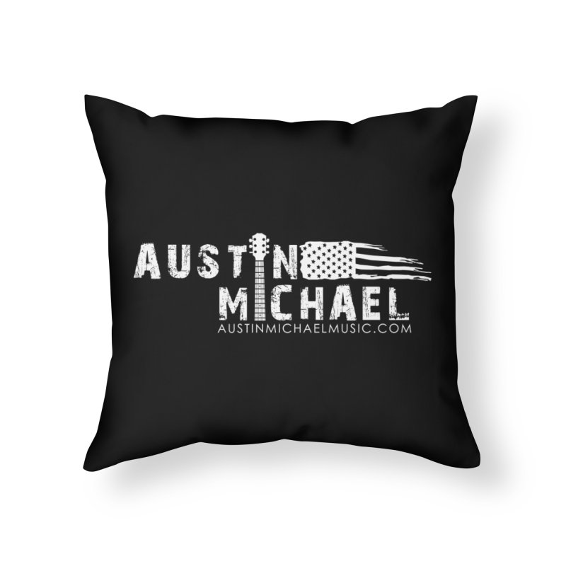 Austin Michael - USA  - for dark colors Home Throw Pillow by austinmichaelus's Artist Shop
