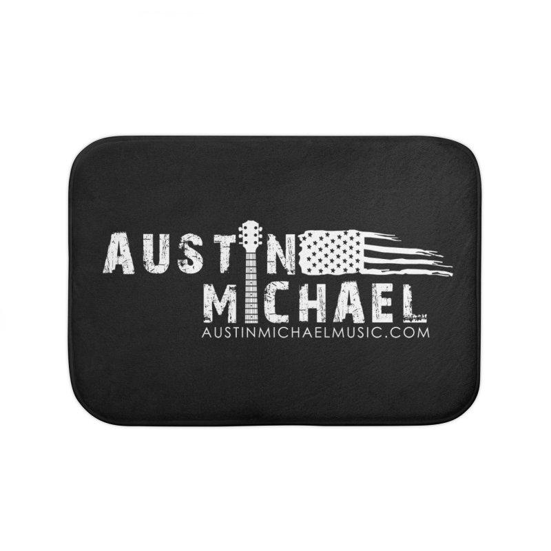 Austin Michael - USA  - for dark colors Home Bath Mat by austinmichaelus's Artist Shop