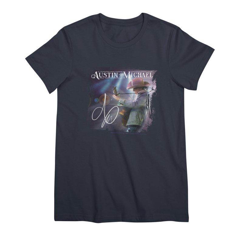 Austin Michael Concert Lights Women's Premium T-Shirt by austinmichaelus's Artist Shop