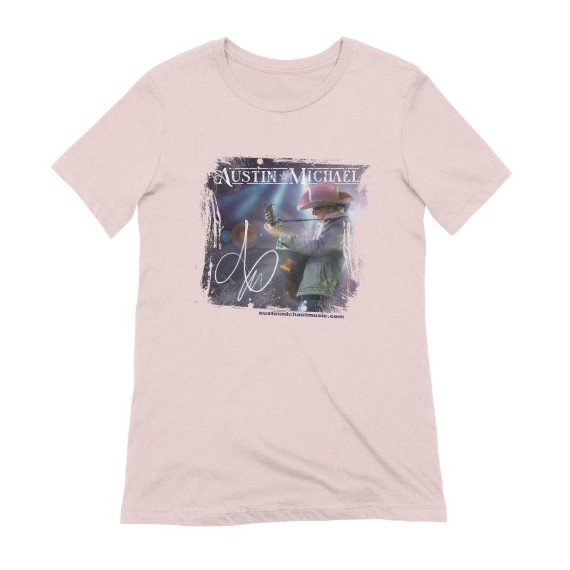 Austin Michael Concert Lights Women's Extra Soft T-Shirt by austinmichaelus's Artist Shop