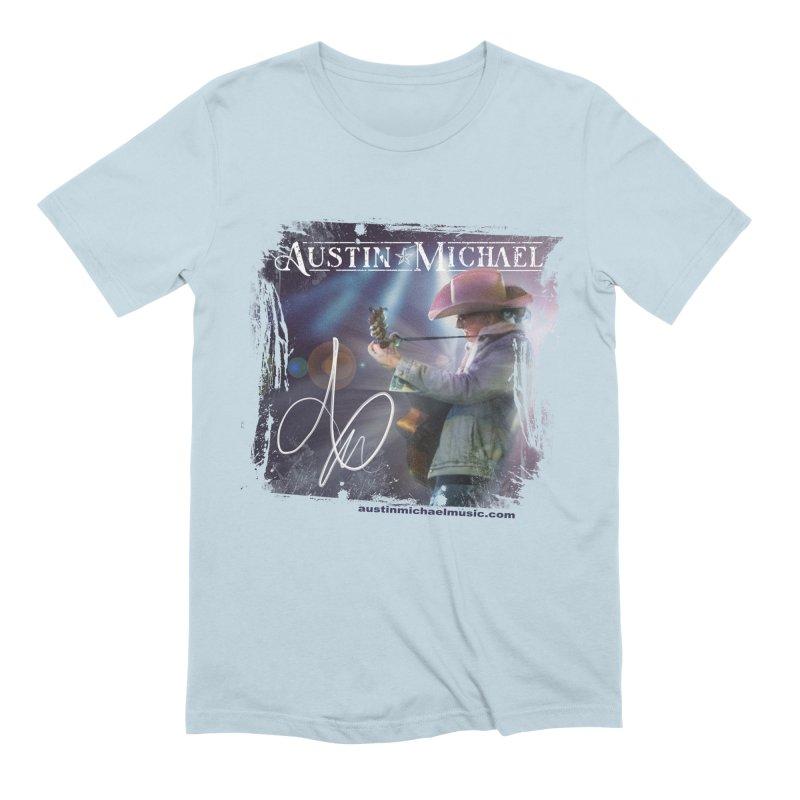 Austin Michael Concert Lights Men's Extra Soft T-Shirt by austinmichaelus's Artist Shop