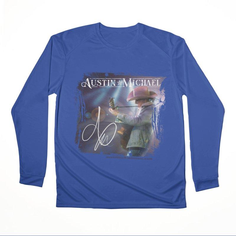 Austin Michael Concert Lights Men's Performance Longsleeve T-Shirt by austinmichaelus's Artist Shop