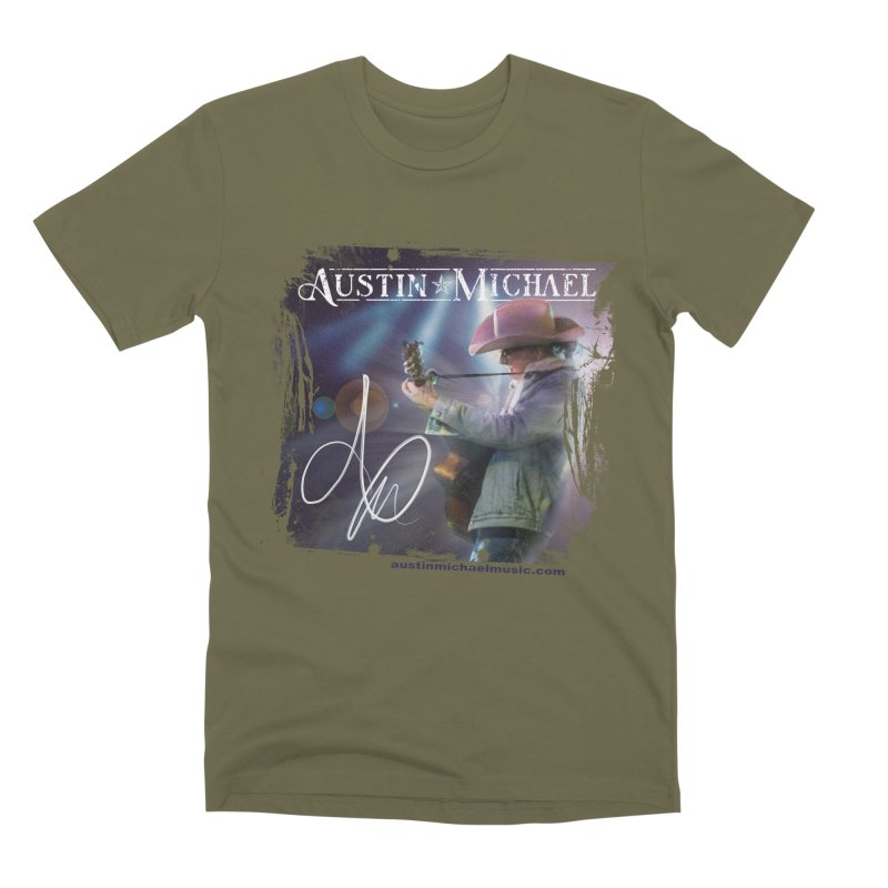 Austin Michael Concert Lights Men's Premium T-Shirt by austinmichaelus's Artist Shop
