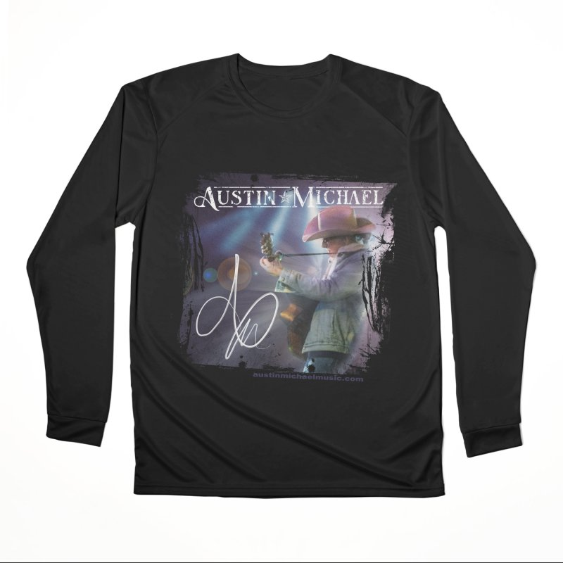 Austin Michael Concert Lights Men's Performance Longsleeve T-Shirt by austinmichaelus's Artist Shop