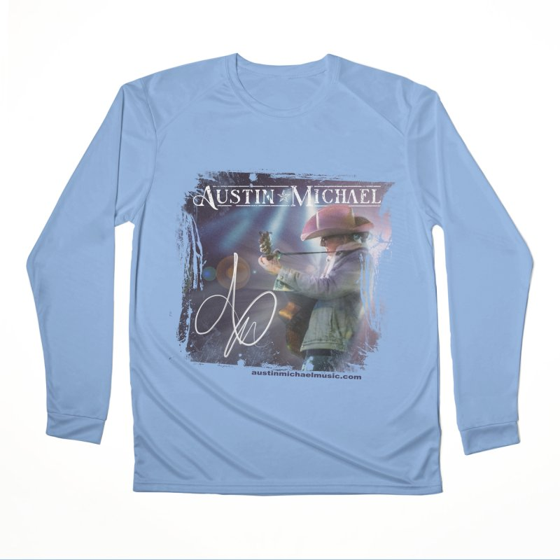 Austin Michael Concert Lights Women's Longsleeve T-Shirt by austinmichaelus's Artist Shop