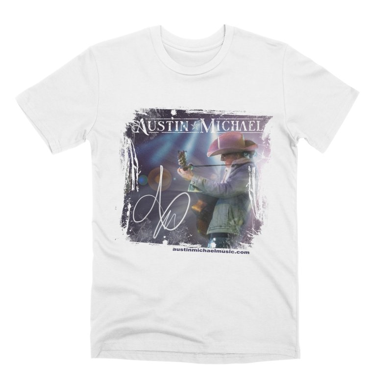 Austin Michael Concert Lights Men's Premium T-Shirt by austinmichaelus's Artist Shop