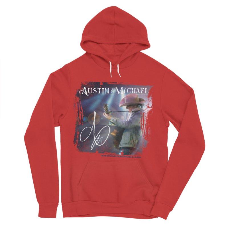 Austin Michael Concert Lights Men's Sponge Fleece Pullover Hoody by austinmichaelus's Artist Shop