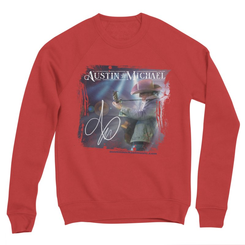 Austin Michael Concert Lights Men's Sponge Fleece Sweatshirt by austinmichaelus's Artist Shop
