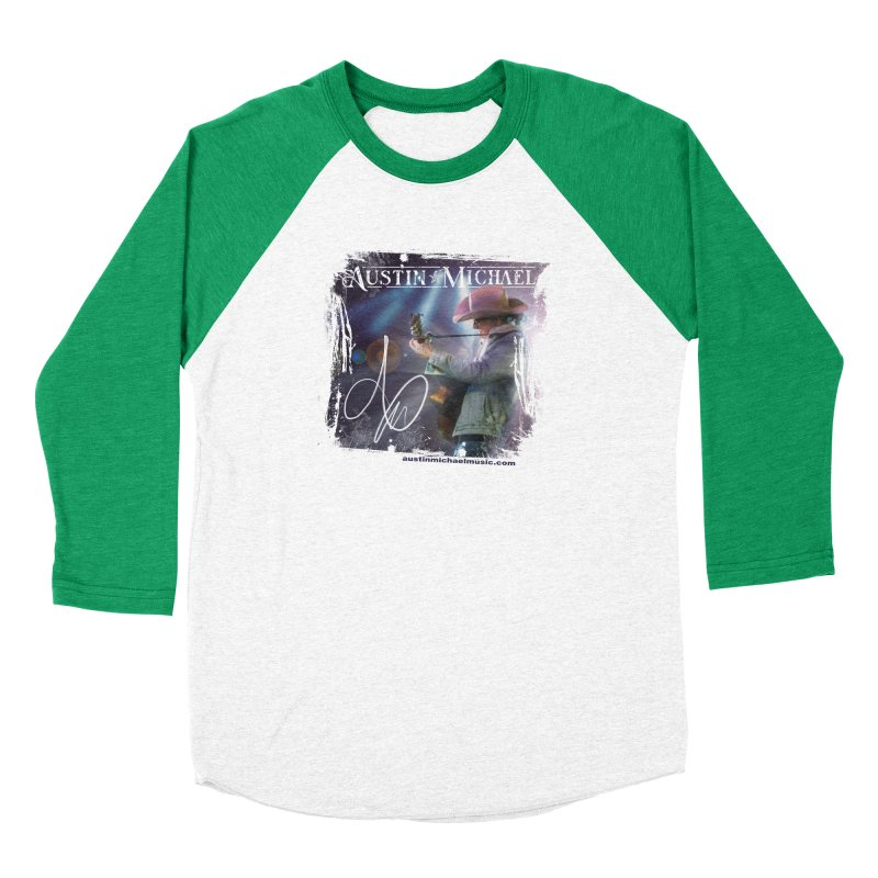 Austin Michael Concert Lights Men's Baseball Triblend Longsleeve T-Shirt by austinmichaelus's Artist Shop