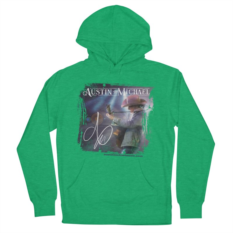 Austin Michael Concert Lights Women's French Terry Pullover Hoody by austinmichaelus's Artist Shop