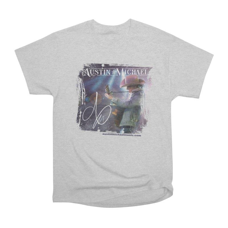 Austin Michael Concert Lights Women's Heavyweight Unisex T-Shirt by austinmichaelus's Artist Shop