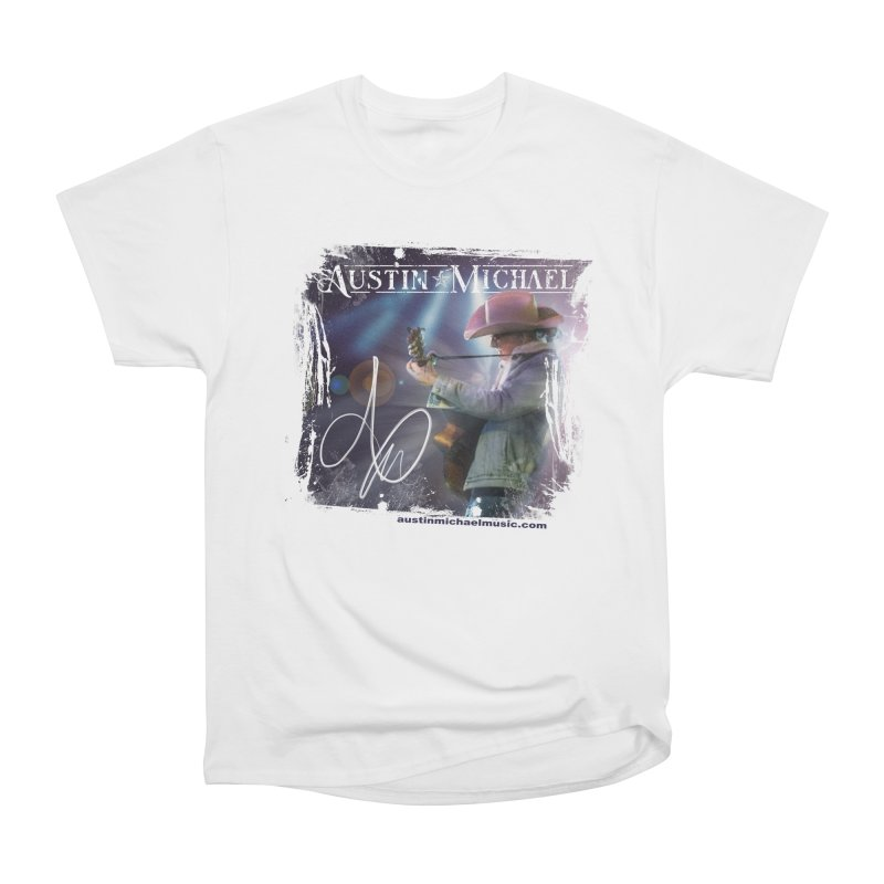 Austin Michael Concert Lights Women's Heavyweight Unisex T-Shirt by austinmichaelus's Artist Shop