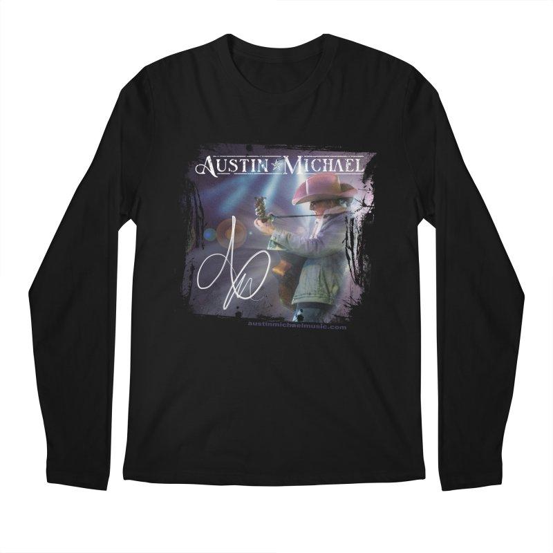 Austin Michael Concert Lights Men's Regular Longsleeve T-Shirt by austinmichaelus's Artist Shop