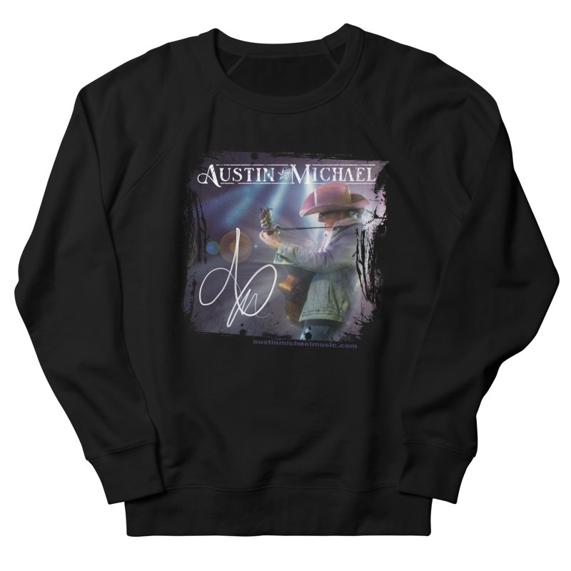 Austin Michael Concert Lights Women's French Terry Sweatshirt by austinmichaelus's Artist Shop