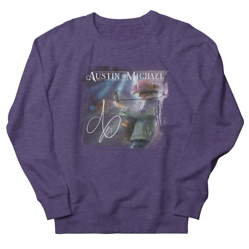 Austin Michael Concert Lights Men's French Terry Sweatshirt by austinmichaelus's Artist Shop
