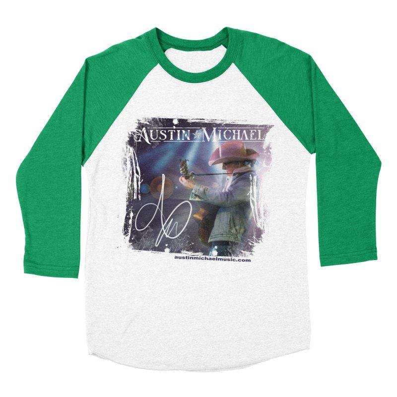 Austin Michael Concert Lights Women's Baseball Triblend Longsleeve T-Shirt by austinmichaelus's Artist Shop