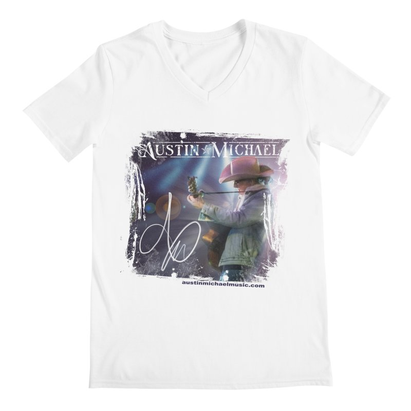 Austin Michael Concert Lights Men's V-Neck by austinmichaelus's Artist Shop