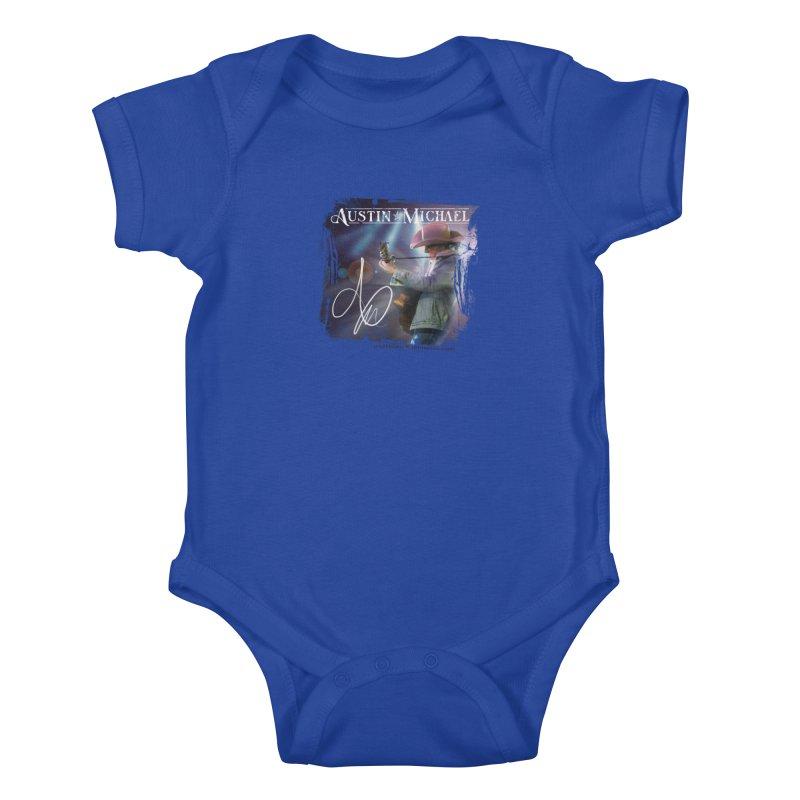 Austin Michael Concert Lights Kids Baby Bodysuit by austinmichaelus's Artist Shop