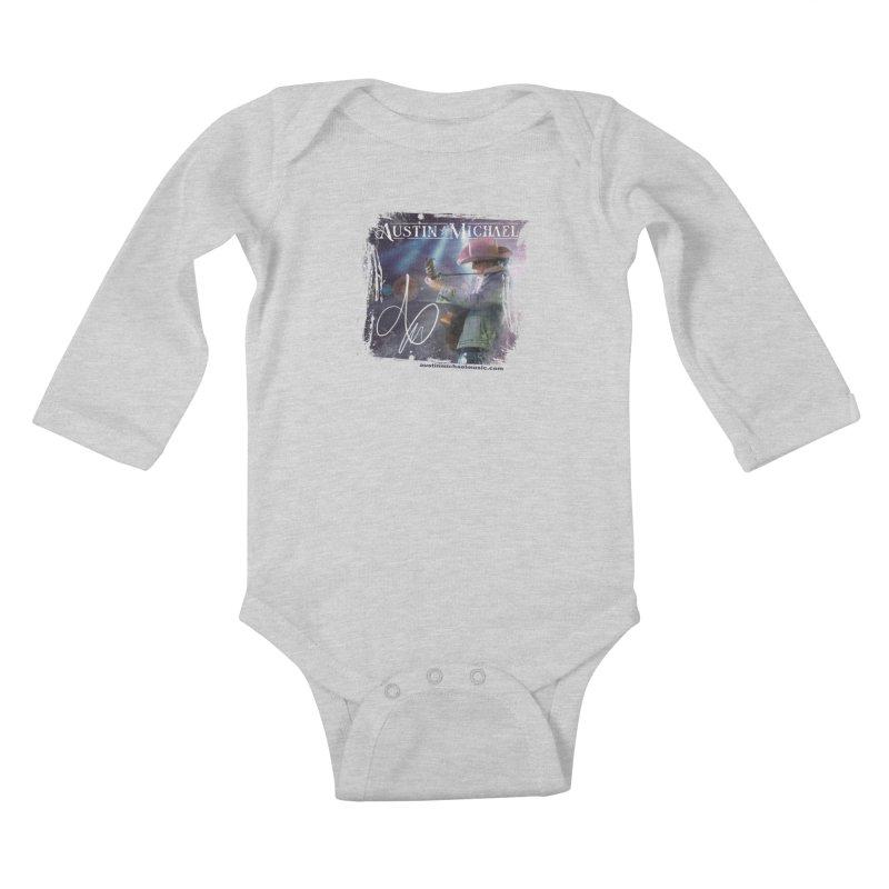 Austin Michael Concert Lights Kids Baby Longsleeve Bodysuit by austinmichaelus's Artist Shop