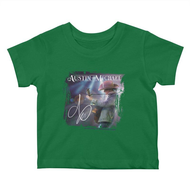 Austin Michael Concert Lights Kids Baby T-Shirt by austinmichaelus's Artist Shop