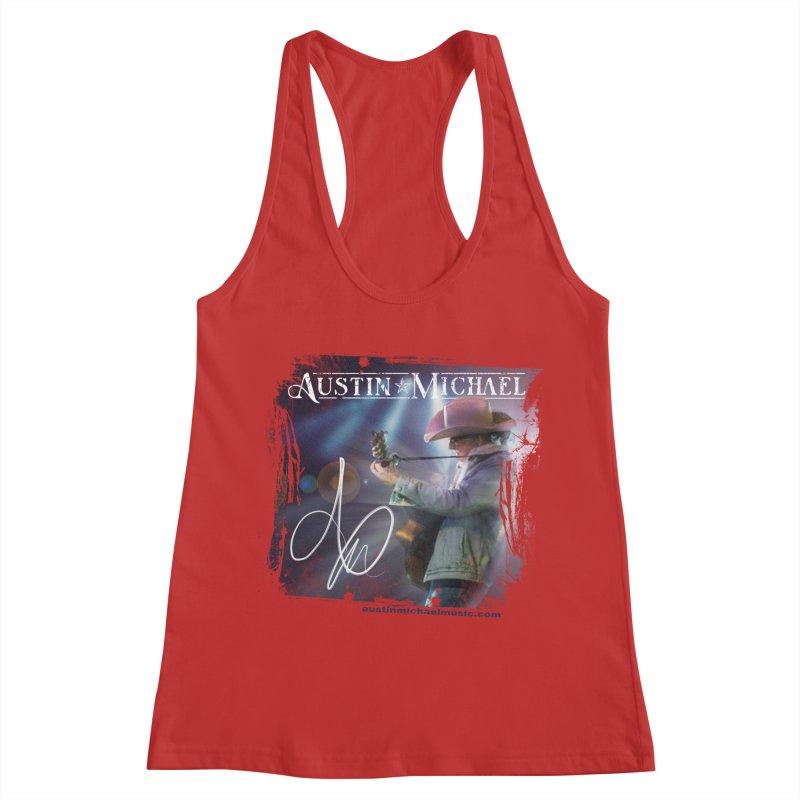 Austin Michael Concert Lights Women's Racerback Tank by austinmichaelus's Artist Shop