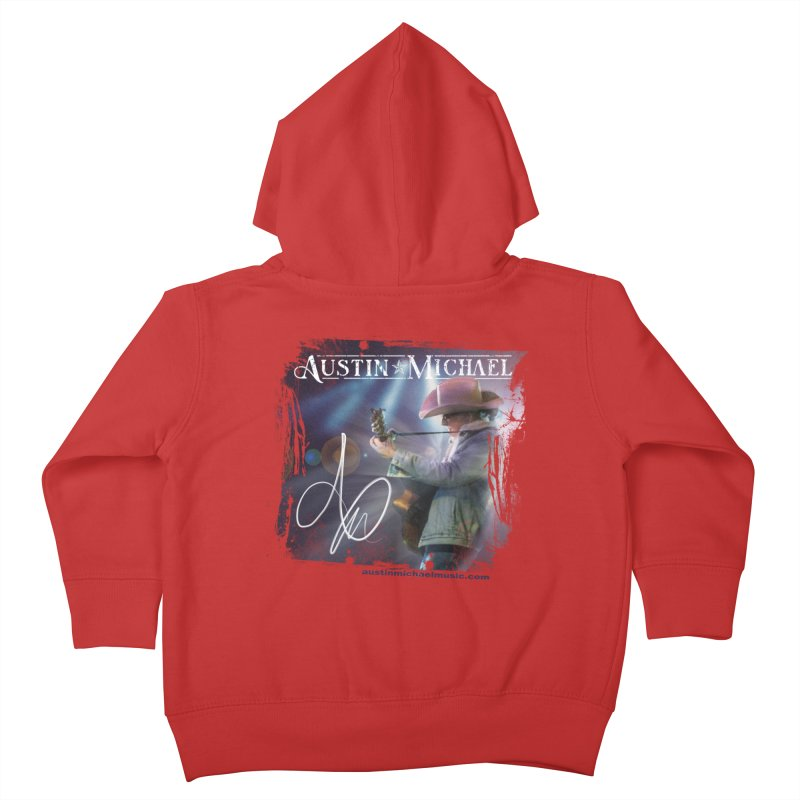 Austin Michael Concert Lights Kids Toddler Zip-Up Hoody by austinmichaelus's Artist Shop