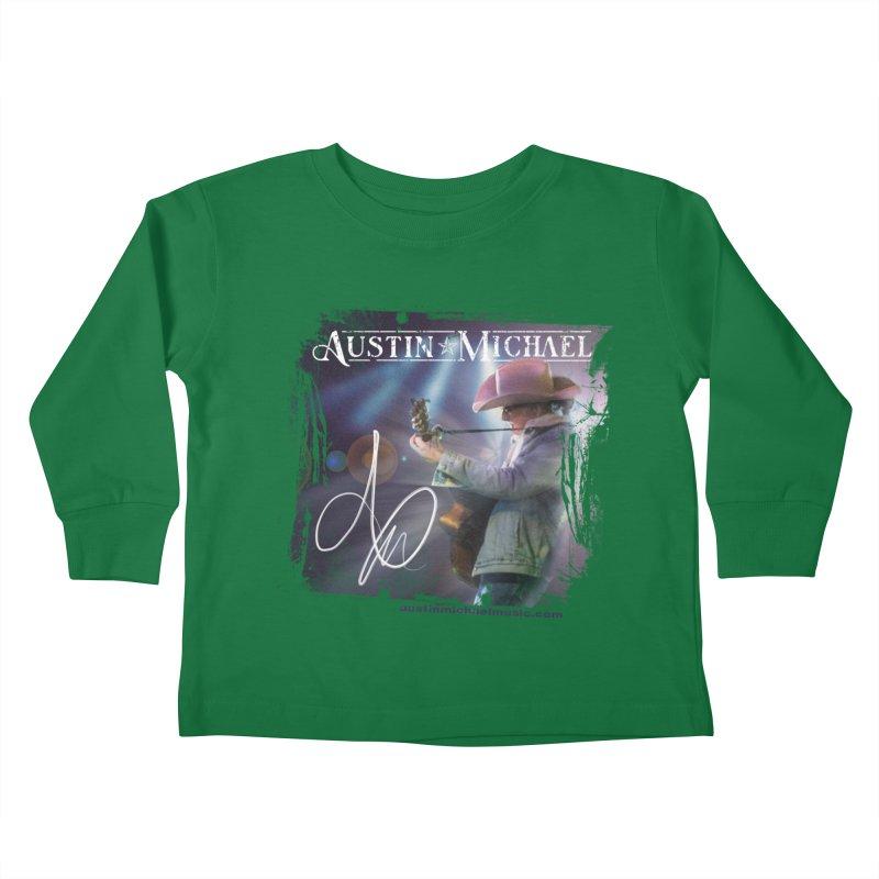 Austin Michael Concert Lights Kids Toddler Longsleeve T-Shirt by austinmichaelus's Artist Shop