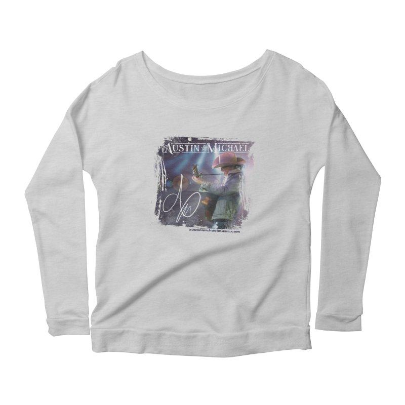 Austin Michael Concert Lights Women's Scoop Neck Longsleeve T-Shirt by austinmichaelus's Artist Shop