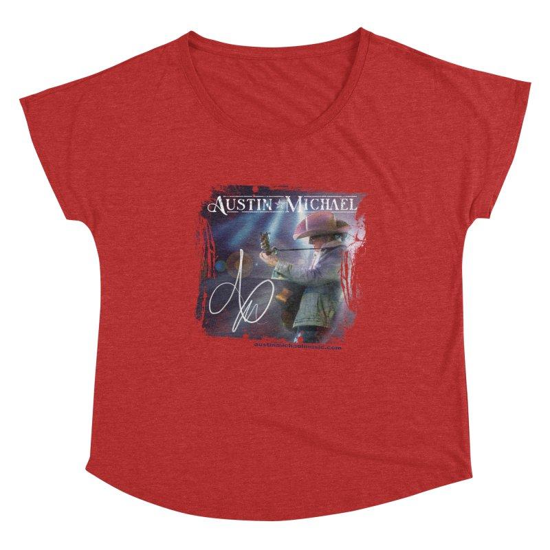 Austin Michael Concert Lights Women's Dolman Scoop Neck by austinmichaelus's Artist Shop