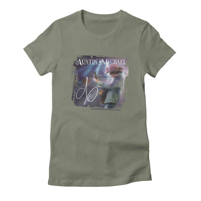 Austin Michael Concert Lights Women's T-Shirt by austinmichaelus's Artist Shop