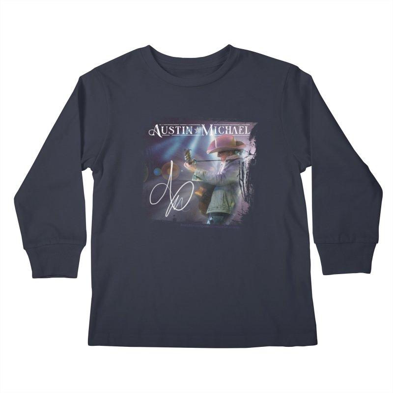 Austin Michael Concert Lights Kids Longsleeve T-Shirt by austinmichaelus's Artist Shop