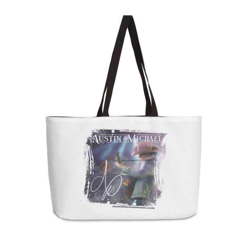 Austin Michael Concert Lights Accessories Weekender Bag Bag by austinmichaelus's Artist Shop