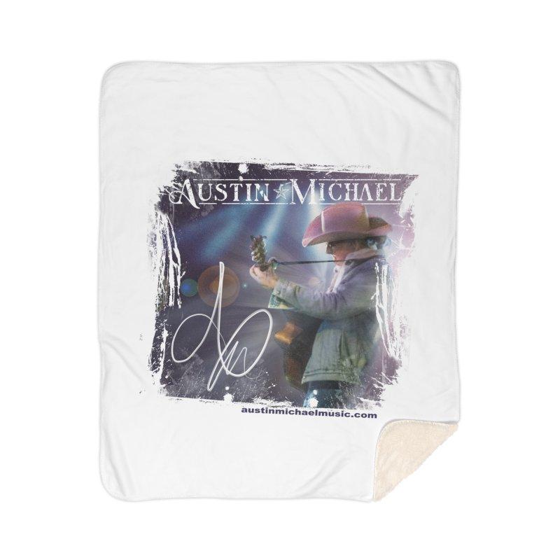 Austin Michael Concert Lights Home Sherpa Blanket Blanket by austinmichaelus's Artist Shop