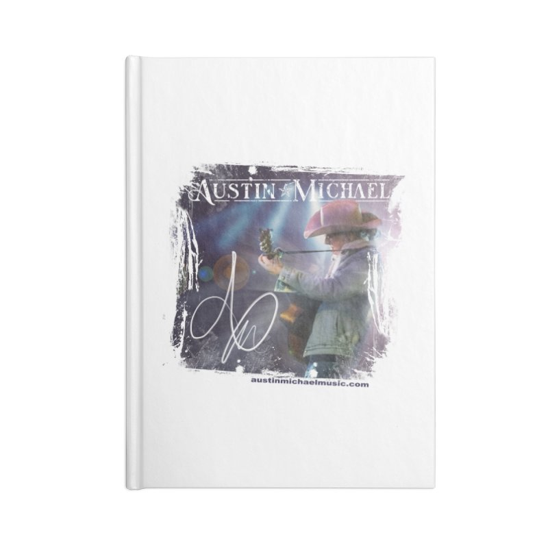 Austin Michael Concert Lights Accessories Lined Journal Notebook by austinmichaelus's Artist Shop