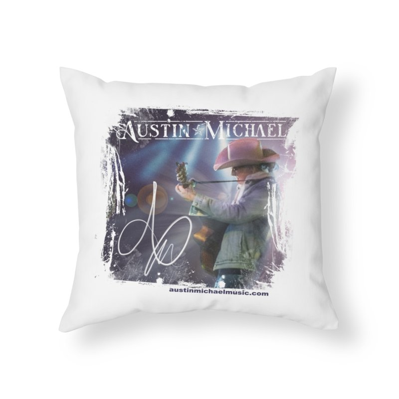 Austin Michael Concert Lights Home Throw Pillow by austinmichaelus's Artist Shop