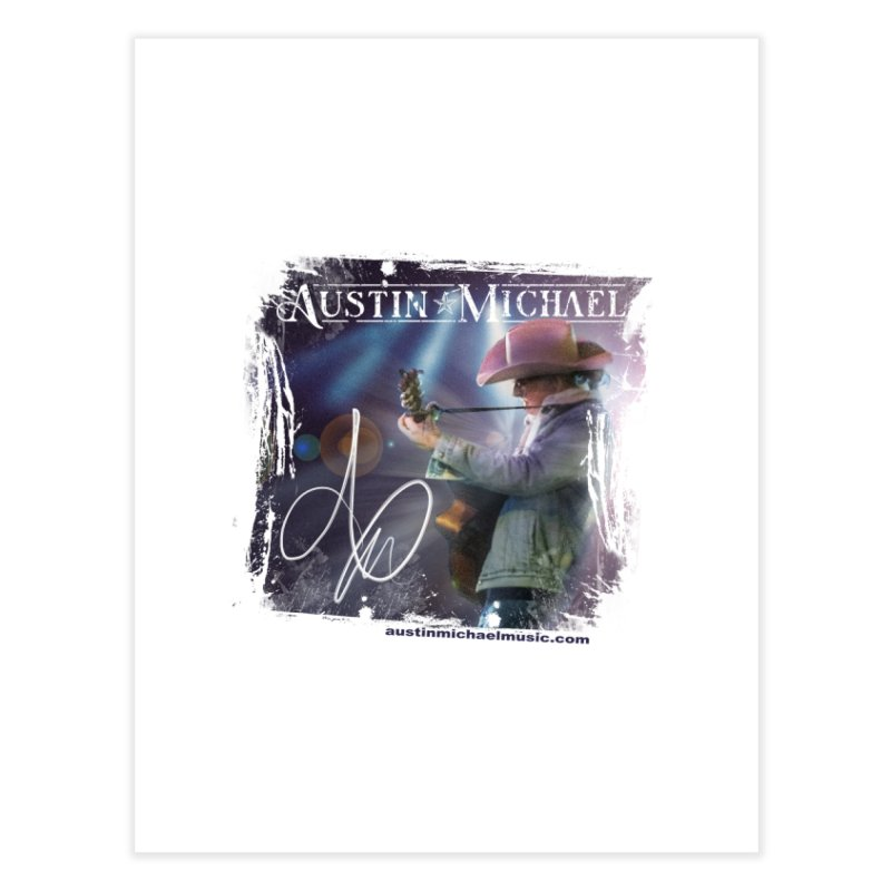 Austin Michael Concert Lights Home Fine Art Print by austinmichaelus's Artist Shop
