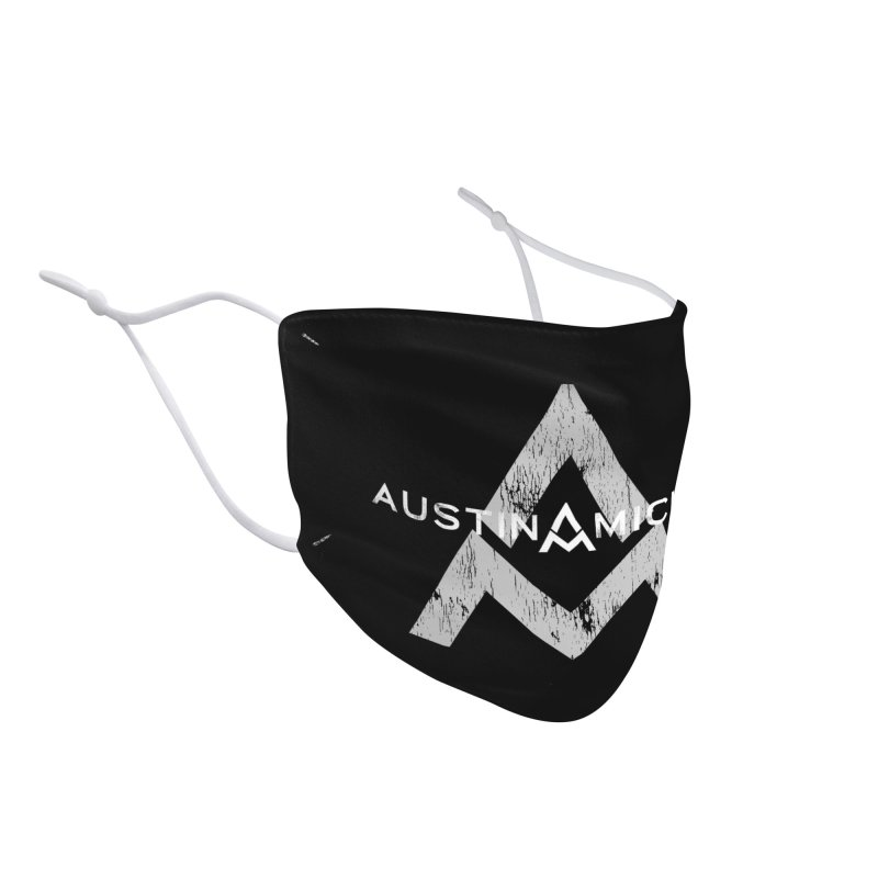 Austin Michael - New Logo Dark Colors Accessories Face Mask by austinmichaelus's Artist Shop