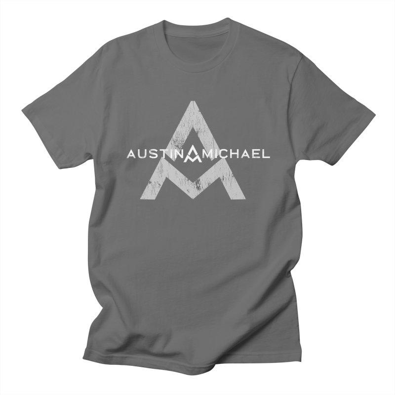 Austin Michael - New Logo Dark Colors Men's T-Shirt by austinmichaelus's Artist Shop