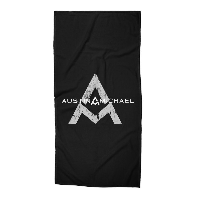 Austin Michael - New Logo Dark Colors Accessories Beach Towel by austinmichaelus's Artist Shop