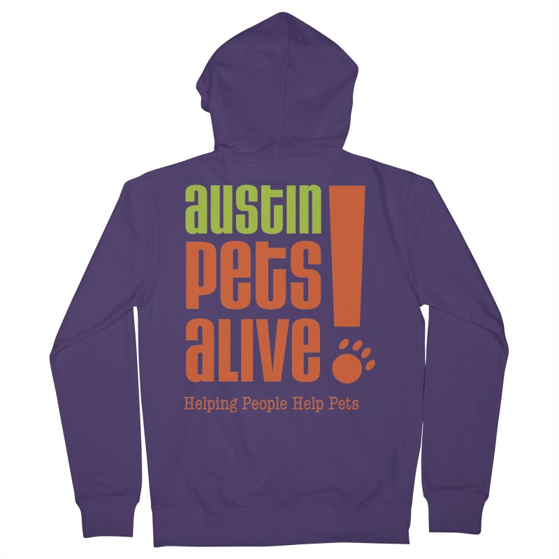 Austin Pets Alive! Women's Zip-Up Hoody by Austin Pets Alive's Artist Shop