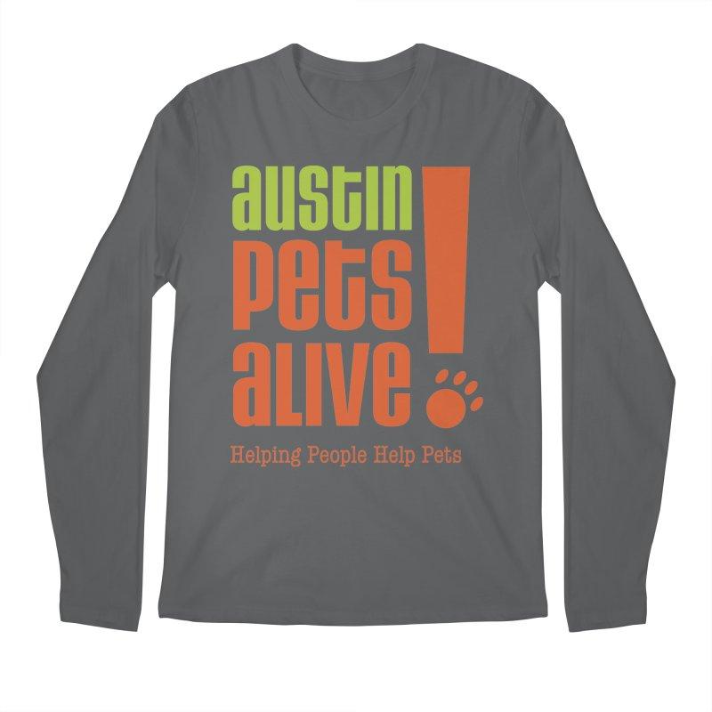 Austin Pets Alive! Men's Longsleeve T-Shirt by Austin Pets Alive's Artist Shop