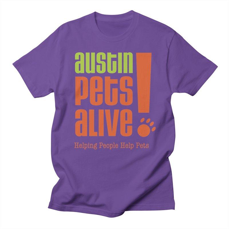 Austin Pets Alive! Men's T-Shirt by Austin Pets Alive's Artist Shop