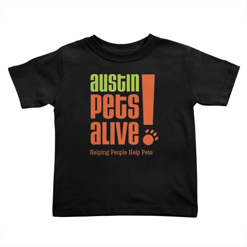 Austin Pets Alive! Kids Toddler T-Shirt by austinpetsalive's Artist Shop